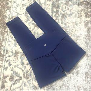 """Lululemon Align Pant II 25"""" 7/8 Hero Blue sz4"""